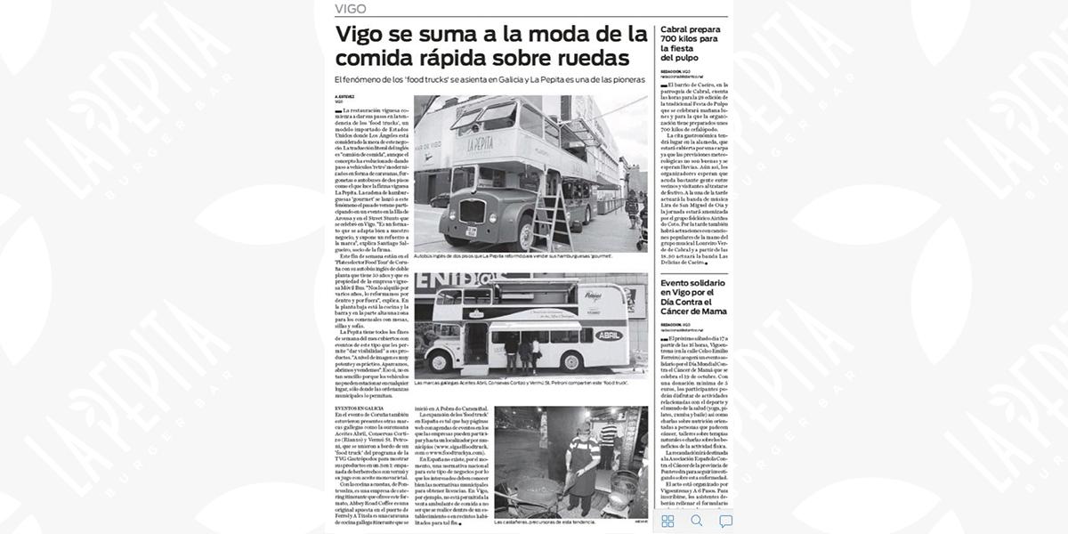 Actualidad y prensa | La Pepita Burger Bar