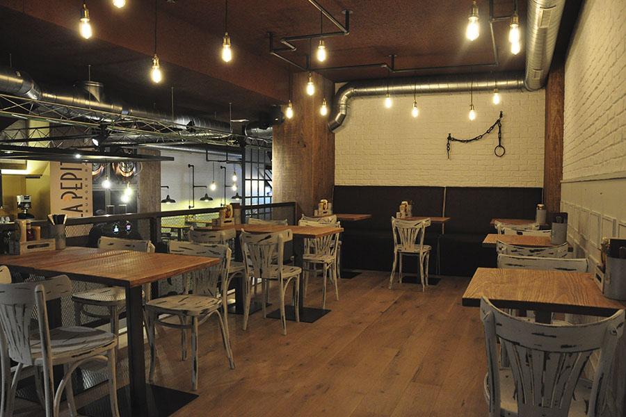 Restaurante de hamburguesas gourmet en Ourense | La Pepita Burguer Bar