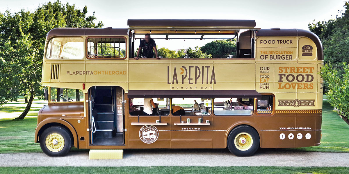 Foodtruck,restaurante de hamburguesas gourmet | La Pepita Burger Bar
