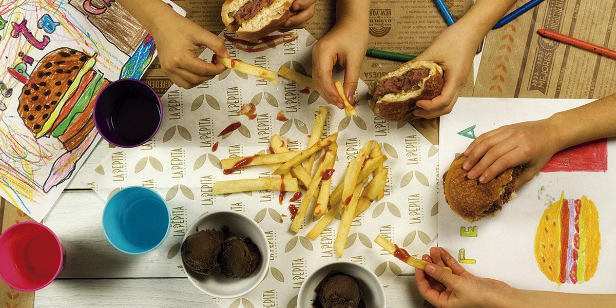 menu-infaMenú infantil | La Pepita Burger Barnti-lapepitaburgerbar