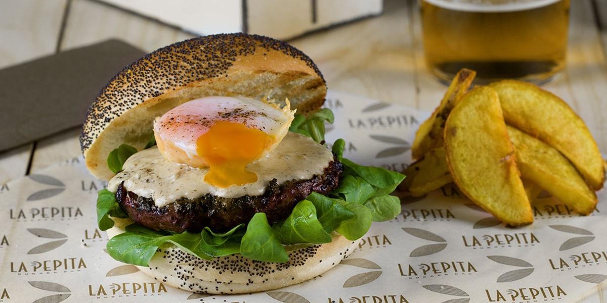 Restaurante de hamburguesas gourmet en Vigo | La Pepita Burguer Bar