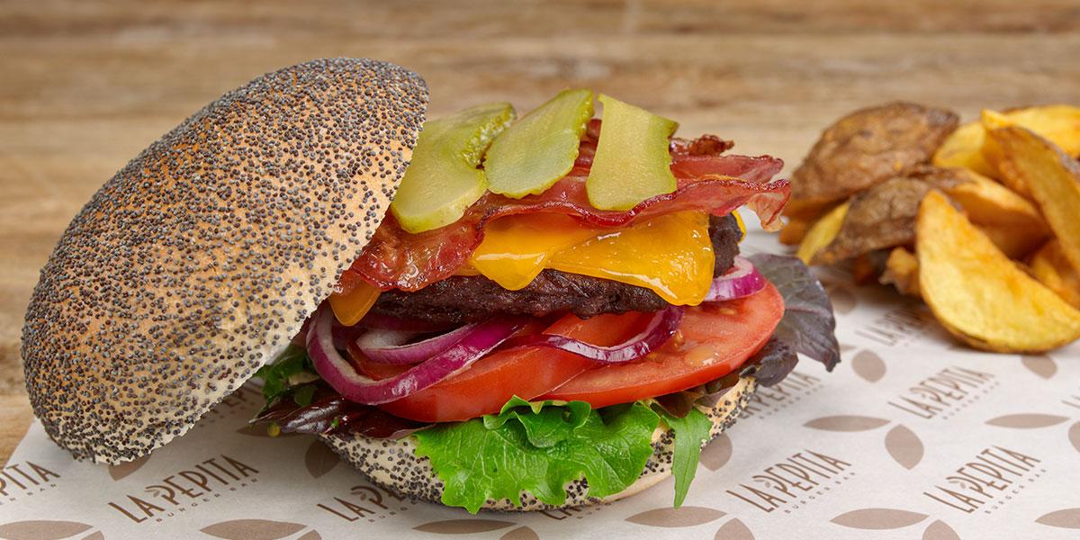 cuantas calorías tiene una hamburguesa