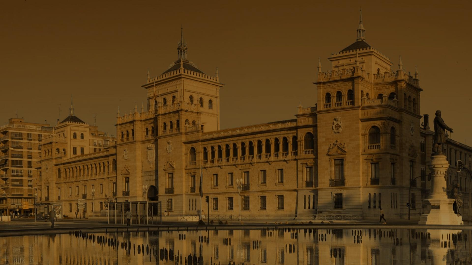 <span>Hola Valladolid</span><br> ¡Ya hemos llegado!