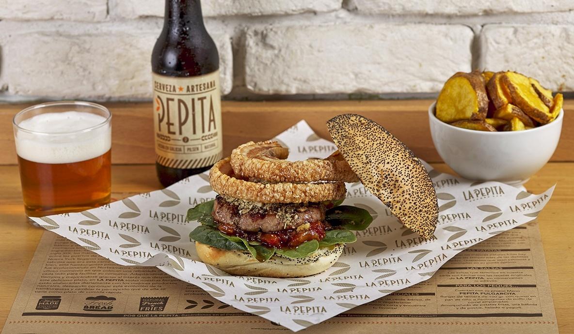 <span>Burger del mes</span><br>Pepita Gocha